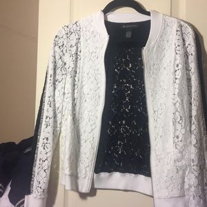 INC Lace Light-Weight Jacket